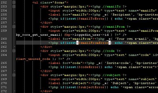 Notepad++: Подсветка кода