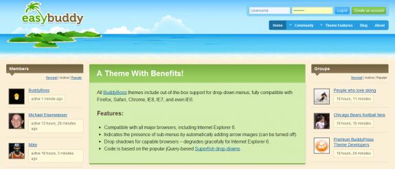 EasyBuddy Home Page