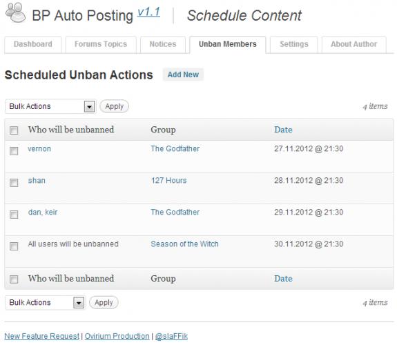 BPAP v1.1 - Unban List
