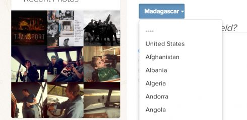 BuddyPress xProfile Countries List