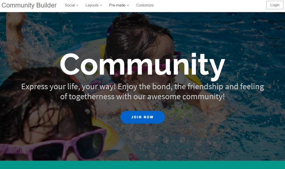 Community Builder - Главная